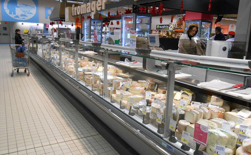 Rayon fromages Cora Mundolsheim