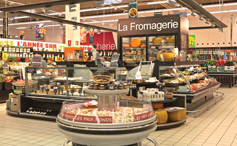 Rayon fromages Leclerc Vannes